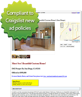 craigslist real estate ad