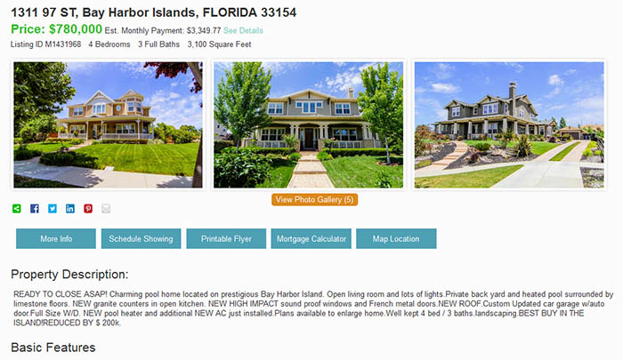 idx featured listings