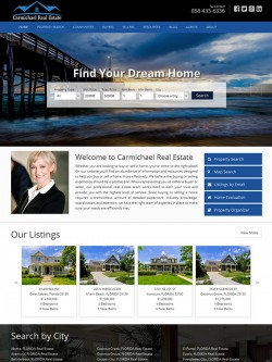 Semi Custom Real Estate Website - Design 4