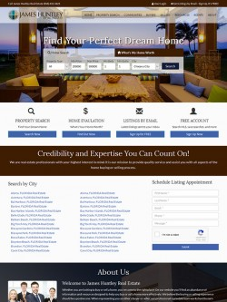 Semi Custom Real Estate Website - Design 6