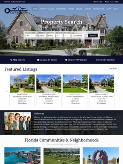 Semi Custom Real Estate Website - Design 1