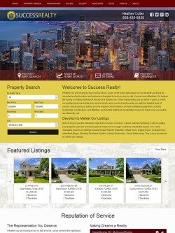 Semi Custom Real Estate Website - Design 3