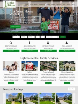 Semi Custom Real Estate Website - Design 7