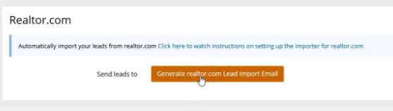Auto Import Your Leads from realtor.com®