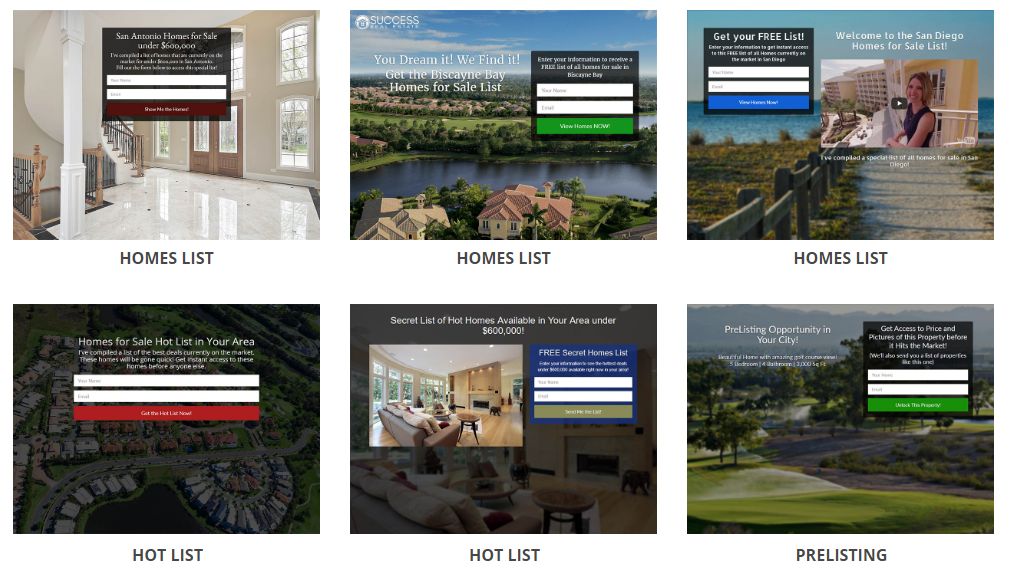 Generate Leads with Real Estate Landing Page