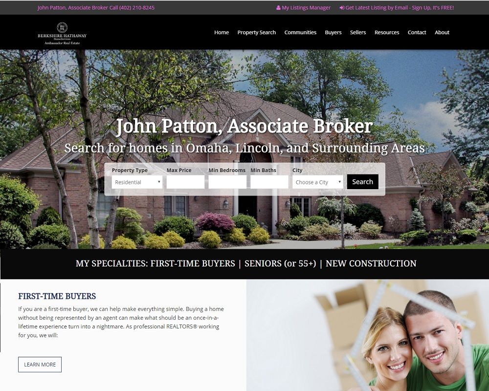John Patton, Berkshire Hathaway HomeServices Ambassador Real Estate
