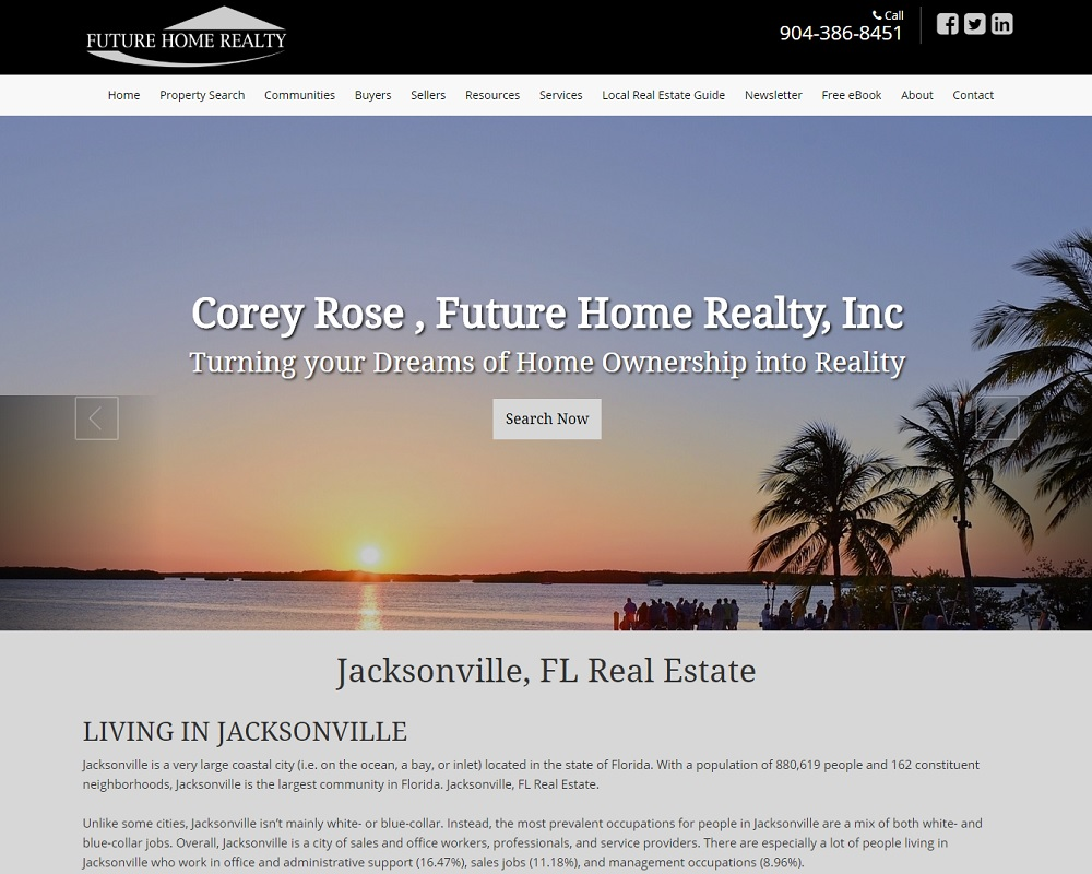Corey Rose, Future Home Realty, Inc