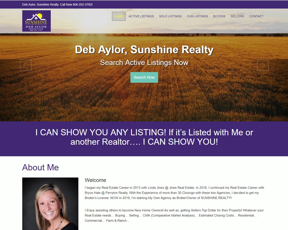 Deb Aylor, Sunshine Realty